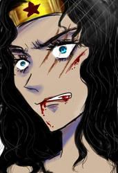 Wonder Woman by Bloodmilkk