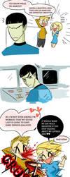 Star Trek: Catfight and Angel [1/2] by Bloodmilkk
