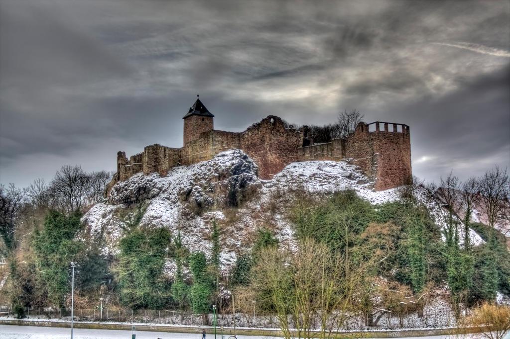 Winter Castle by Sleepwalker1803