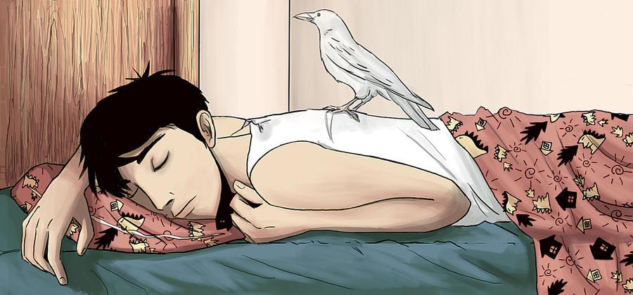 Dream of a Crow by Engelen