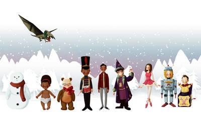 Abed's Winter Wonderland by Engelen