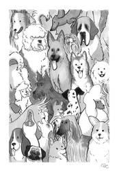 Puppies by Engelen