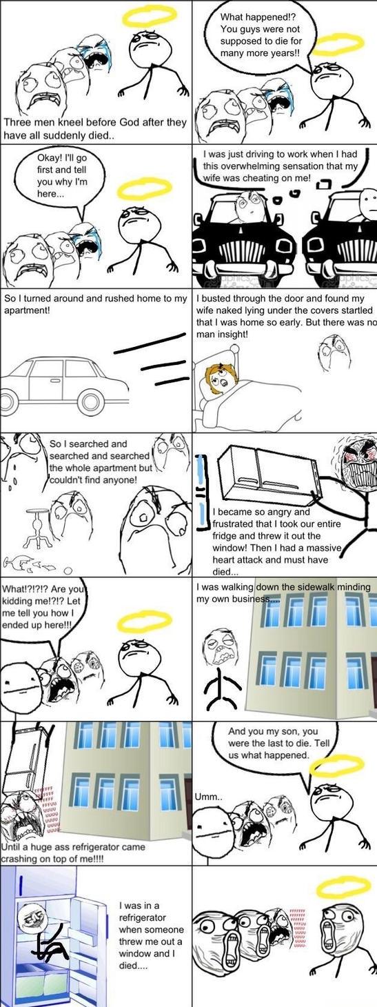 So 3 Guys Walk Into Heaven . . . . by davidprogamer64