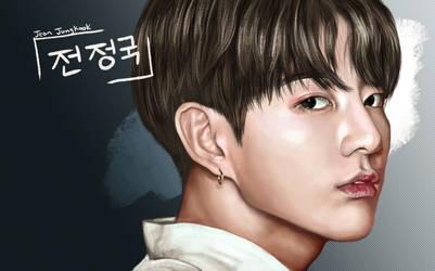 Jungkook Color Portrait