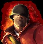 Team Fortress Soldier Portrait