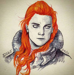 Ygritte - kissed by fire