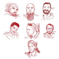 Sketches of Friends