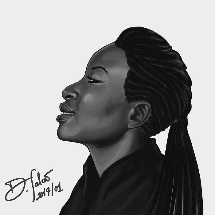 Skua Profile Portrait by Psamophis