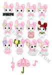 Pixel My Melody collection