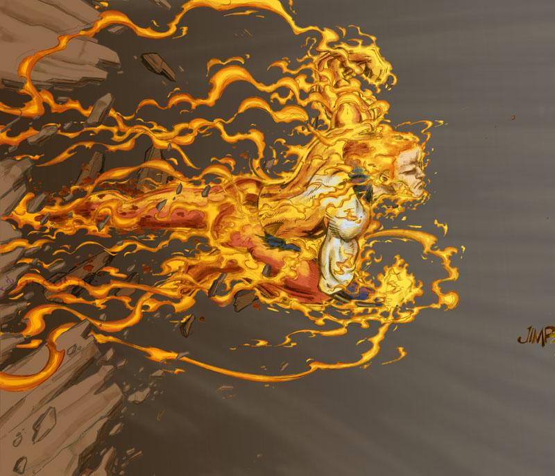 Collab: Human Torch