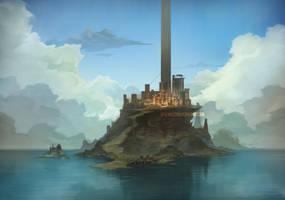 Armor Island Concept by bvdconcept