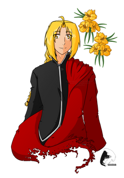 Edward Elric - Flowers