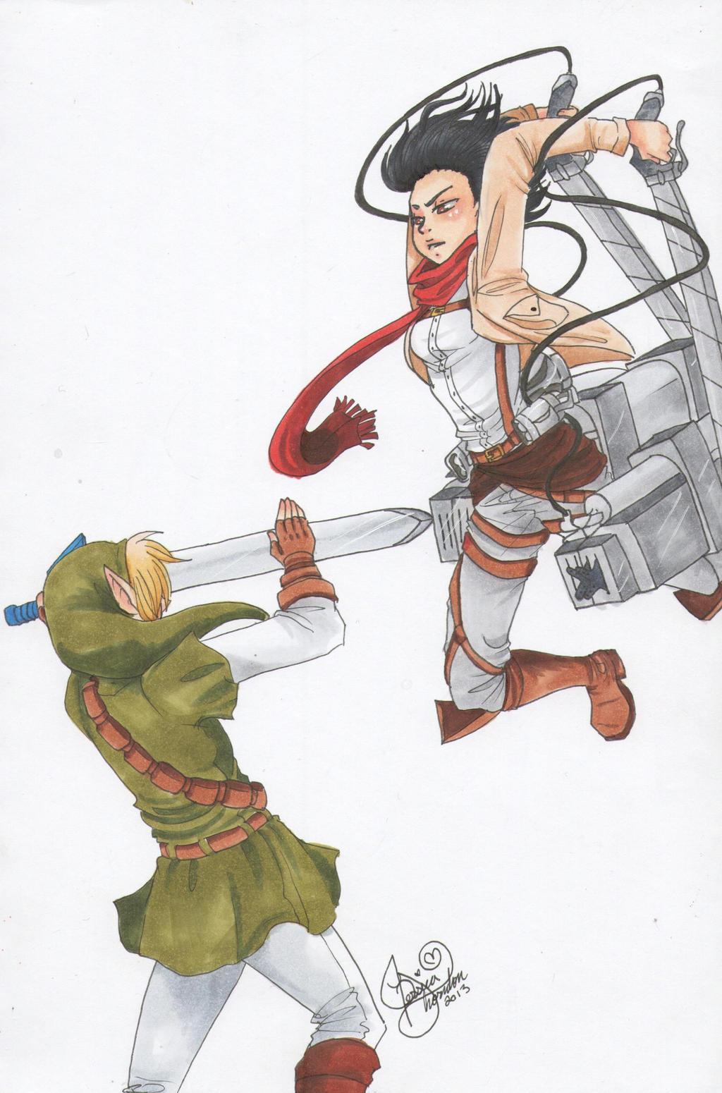 Link vs myhouse by Mangopoptart