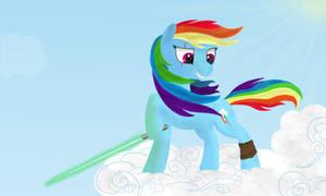 Rainbow Dash Jedi