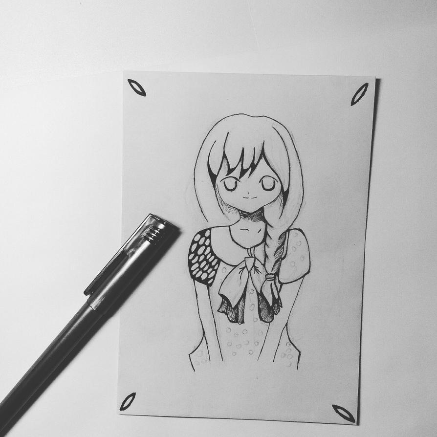 Manga-black/white by MizumitheChibi