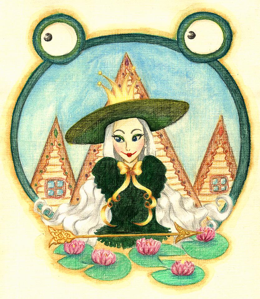 Princess frog by A-len-A