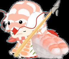 SW: Dragoon Sushi by Cydnee-B