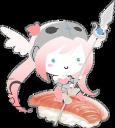 SW: Valkyrie Sushi by Cydnee-B