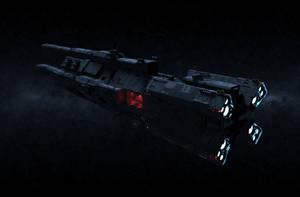 Interstellar Warship by Casper87