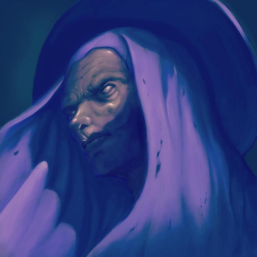Dark priest  by Nimo211184
