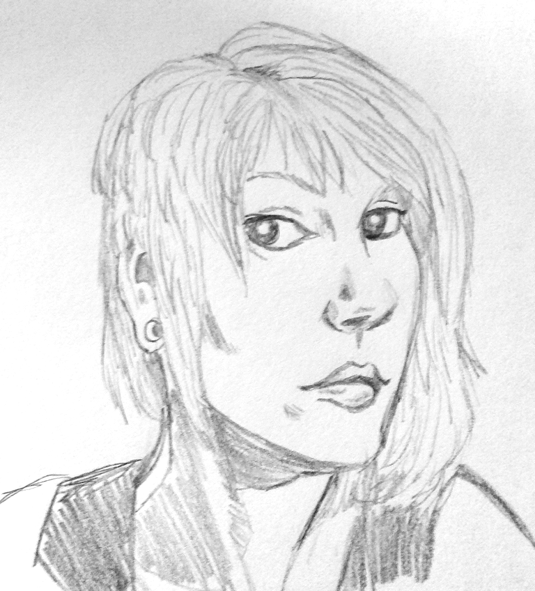 Quick Face Sketch From Photo By Viscid2007 On DeviantART