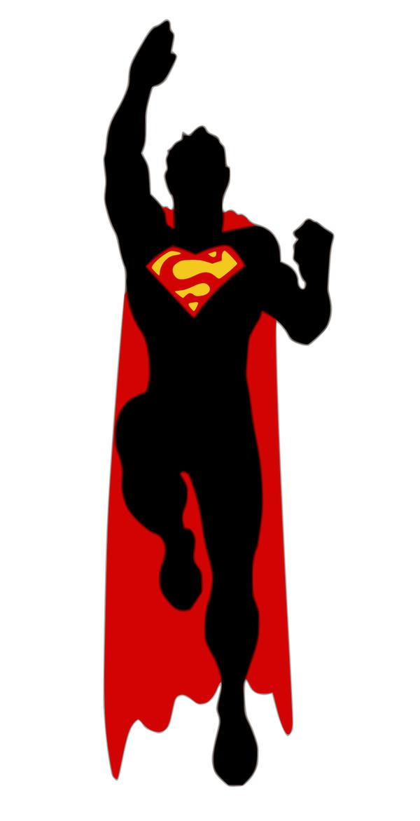 Superman Silhouette by viscid2007 on DeviantArt