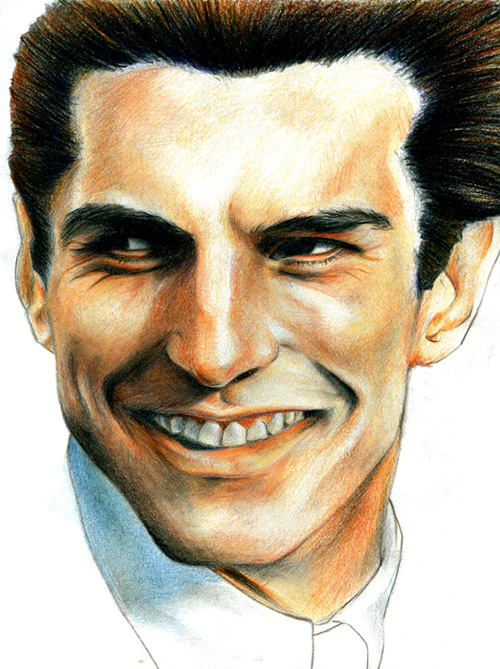 IllustrationII:Male Portrait I by dichromaticbeagle