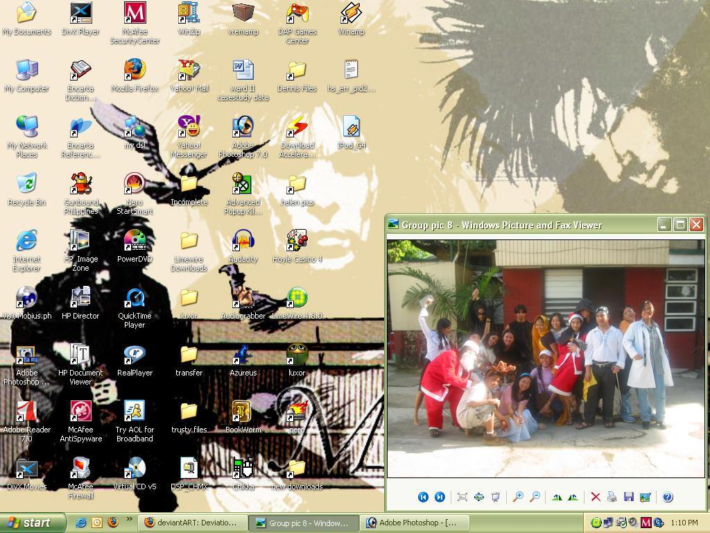 Mah First Desktop Screenshot by dichromaticbeagle