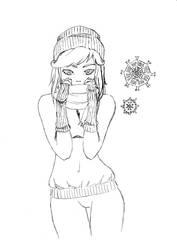 Snowy Girl by Sachiko94