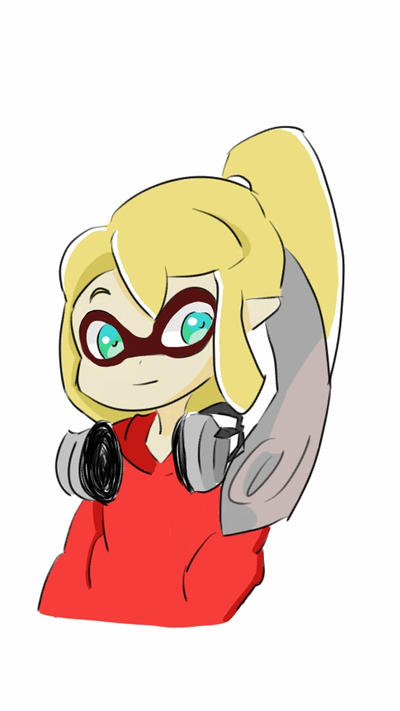 Inkling Girl Splatoon By Emmalovania On Deviantart
