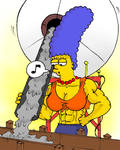 Marge and concrete