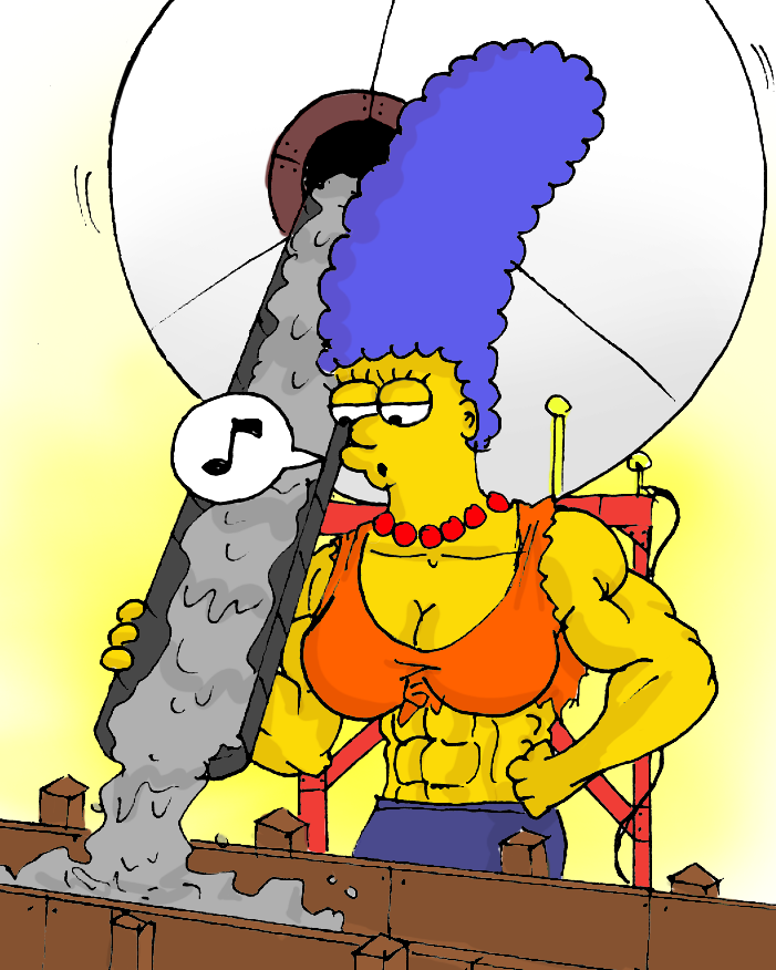 Marge Simpson Muscles