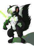 Gettar82's skunk