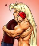 Tetsuko gives a hug by Ritualist