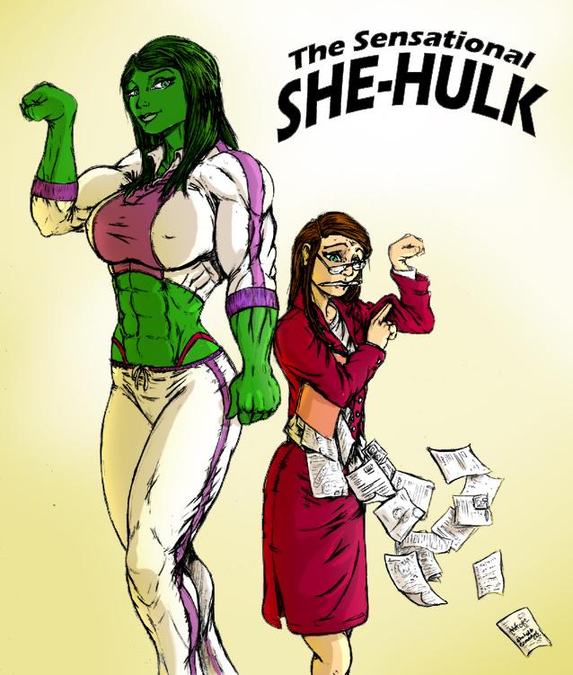 Toegar's She Hulk by Ritualist