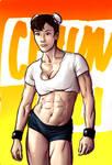 Chun Li for B9TRIBECA