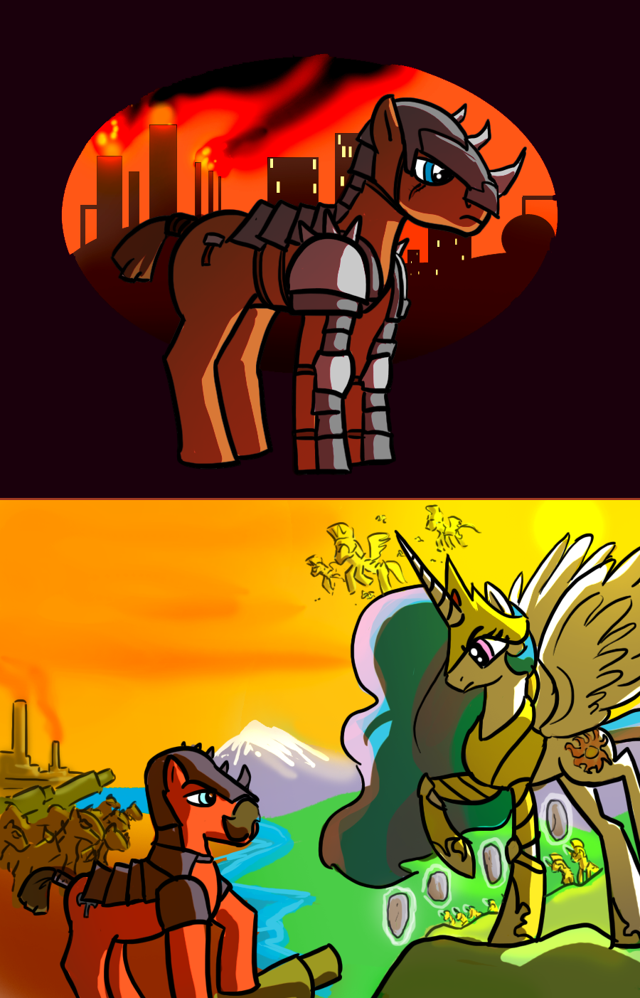 Ponies of Stalliongrad by Ritualist