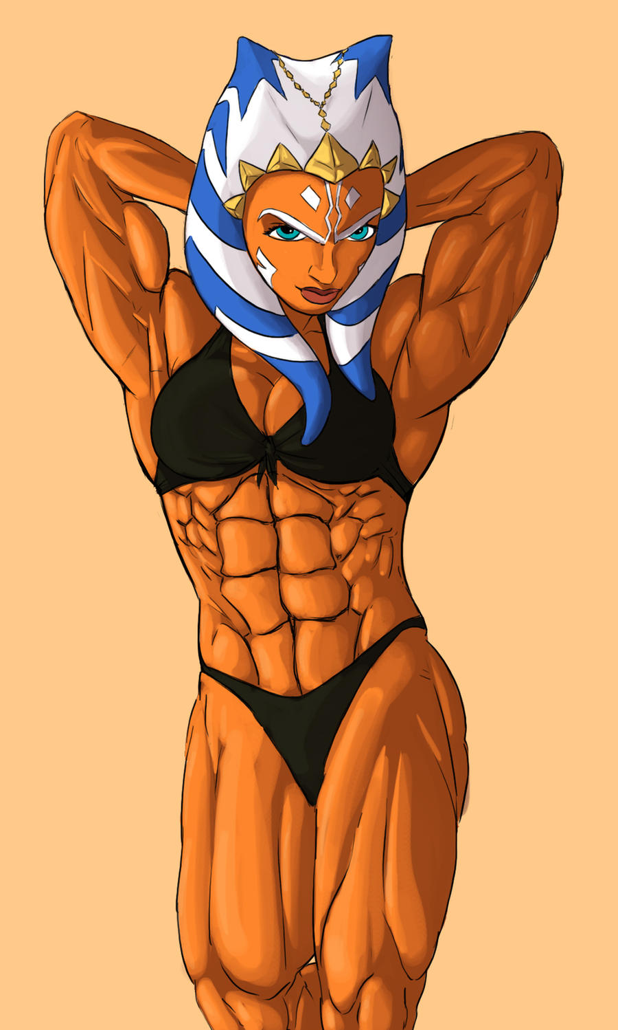 Sexy muscle ahsoka tano softcore bitches
