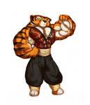 Gettar's Tigress 19 colored