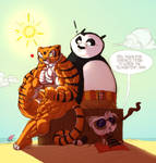 Tigress and Po Beach