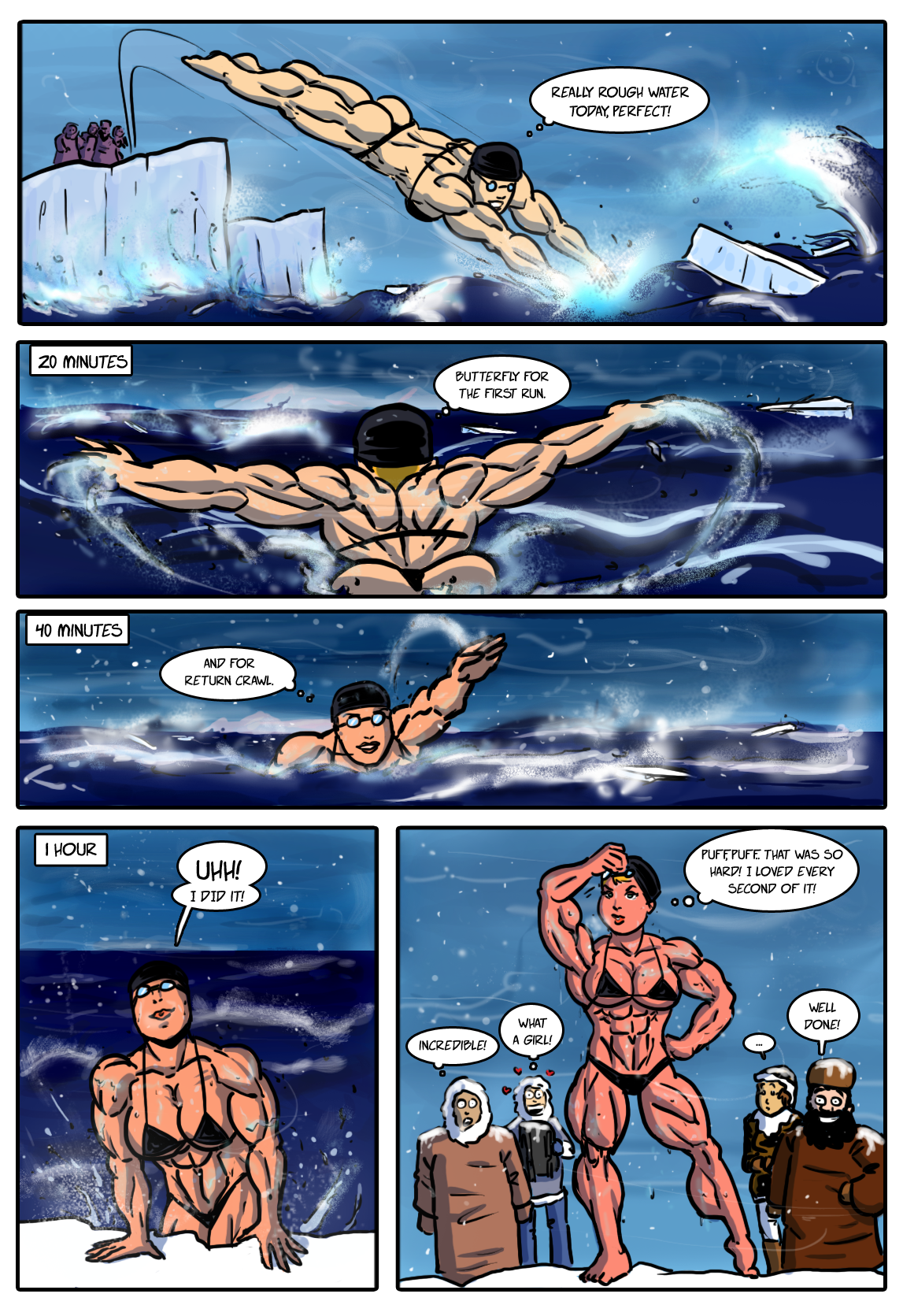 Commission: How I Met My Family Page 01 by Rex-equinox on