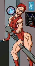 March Theme: Female Muscle on Television by Ritualist