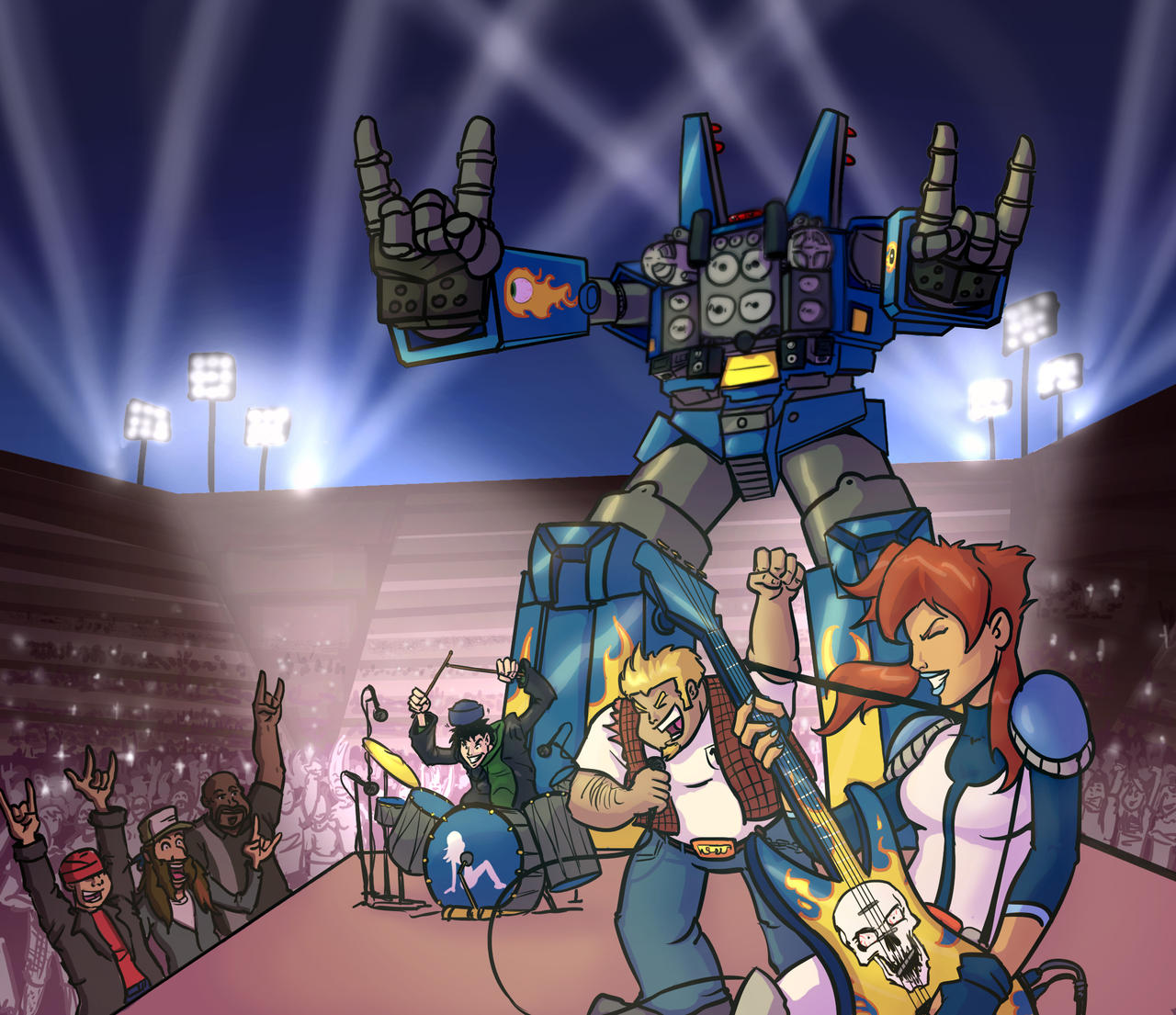 Chicks Dig Giant Robots Megas Xlr Wiki Fandom Powered By