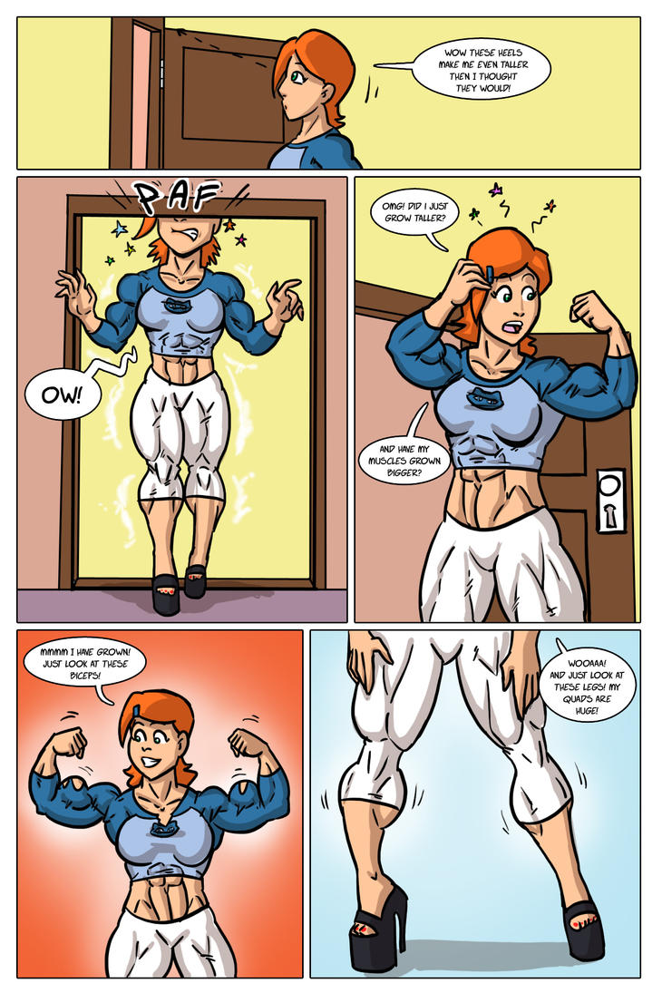 Test Subject Ben 10 Pg. 2 by Somdude424 on DeviantArt  Ben Muscle Growth