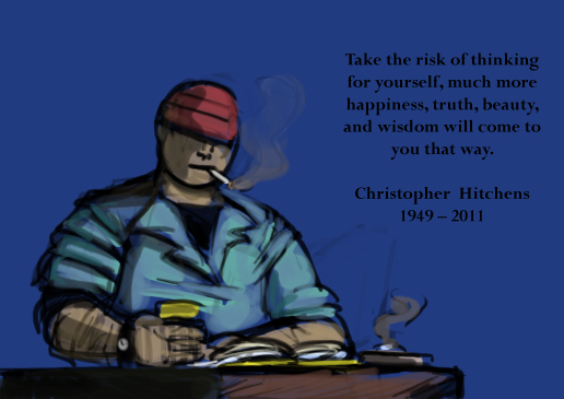 In memoriam of Christopher Hitchens by Ritualist
