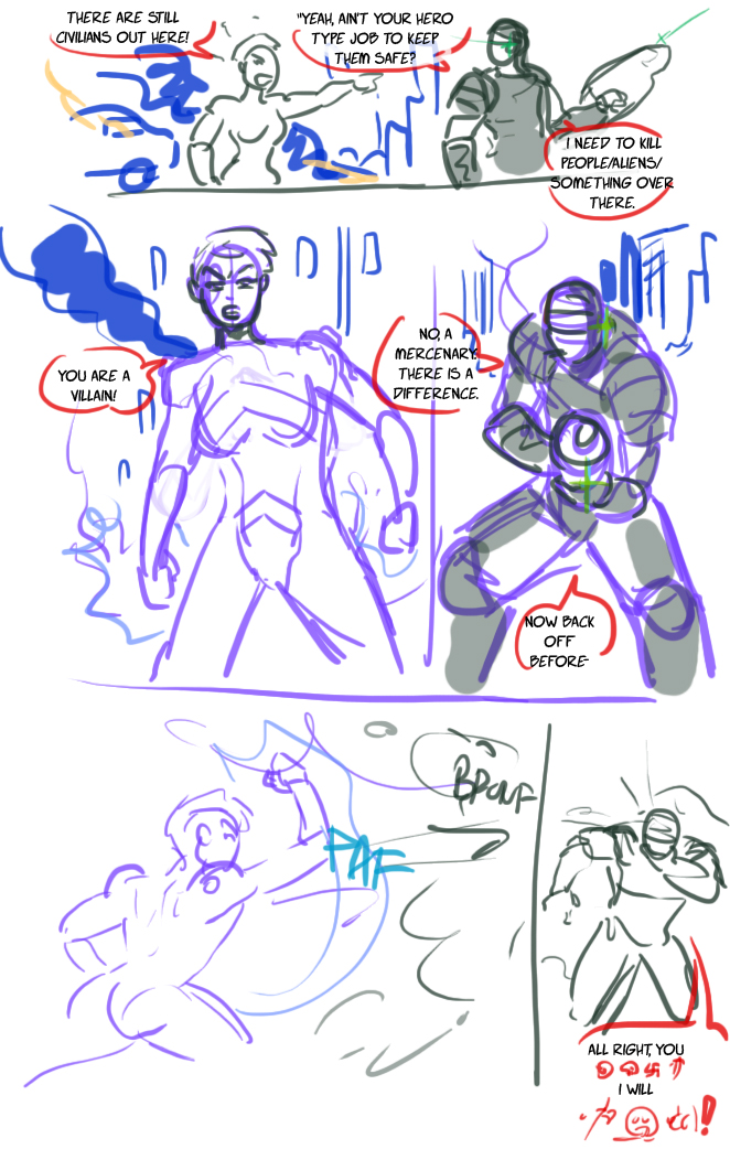 Quick comic page by Ritualist