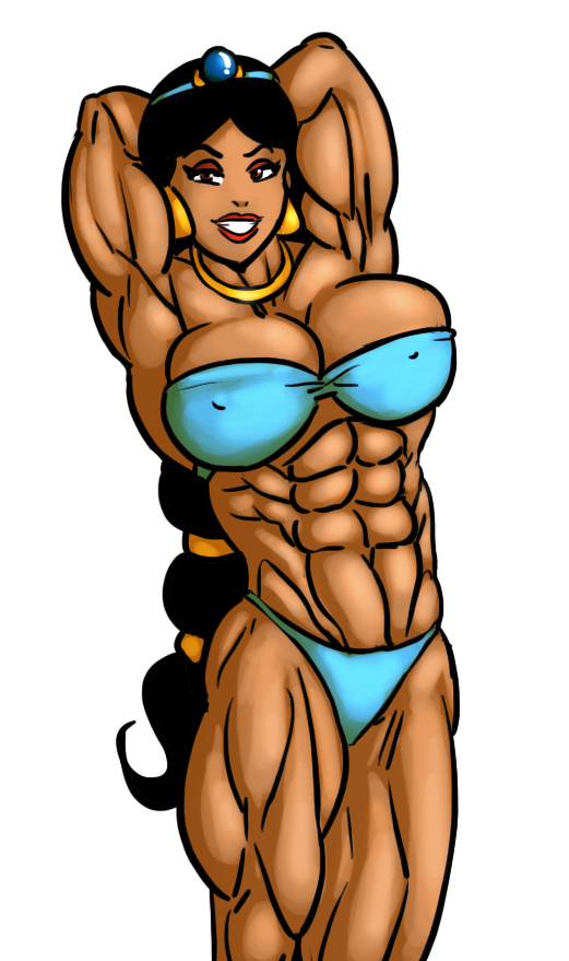 Buffest body in all of Agrabah by Ritualist