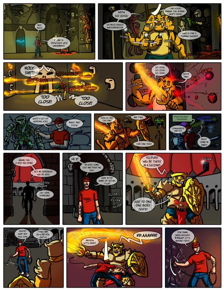 Planet AFL - Fifth fight page 2 by Ritualist