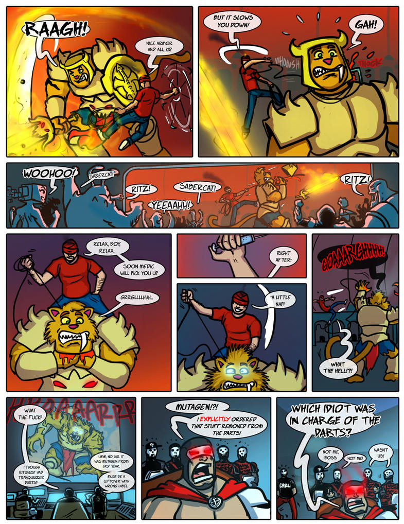 Planet AFL - Fifth fight page 3 by Ritualist
