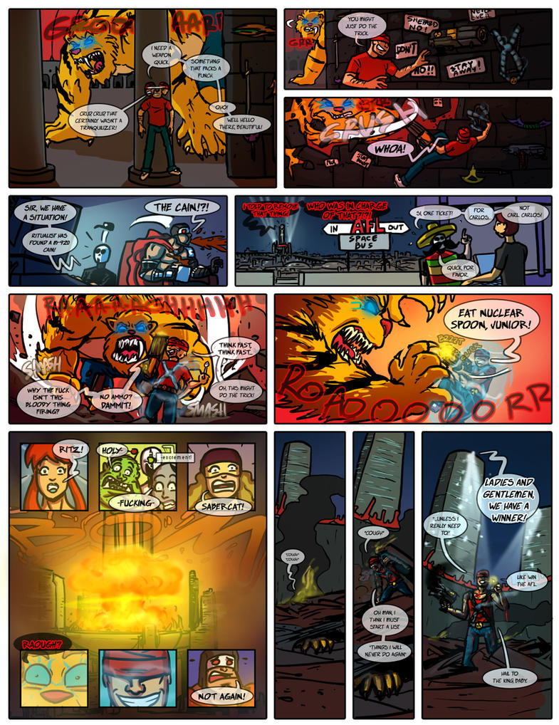 Planet AFL - Fifth fight page 4 by Ritualist